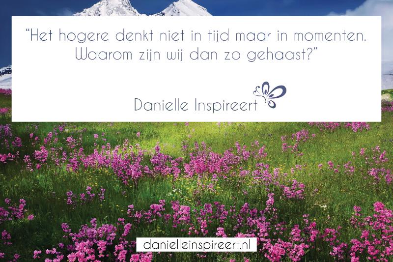 Quote Danielle Inspireert: Momenten