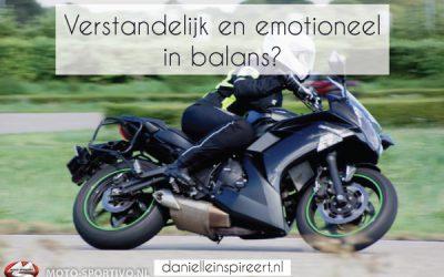 Verstandelijk en emotioneel in balans?